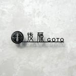 ステンレス切り文字表札 家紋デザイン