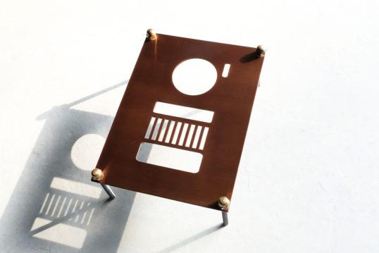 銅製インターホンカバー