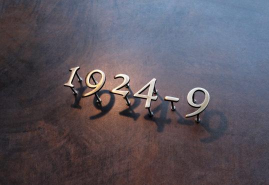 真鍮ハウスナンバー